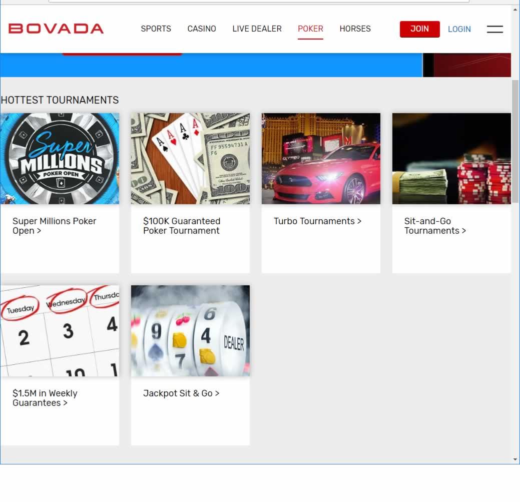 is bovada online casino legit