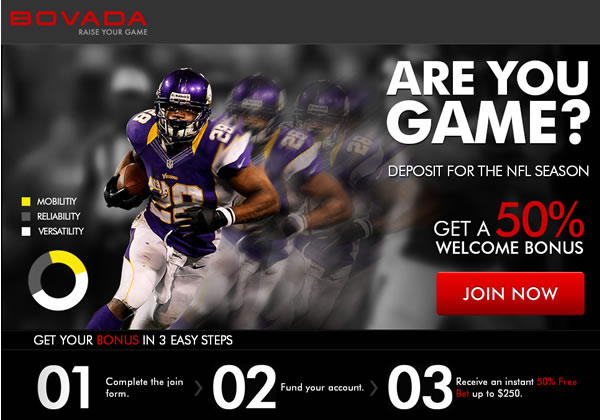 bovada.com sports blue from the game bet
