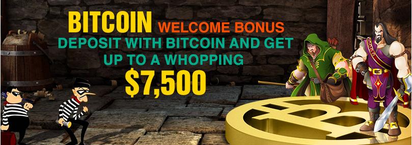 online casino bitcoin bonus