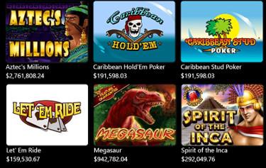 Casino Extreme Progressives