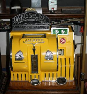 Old Timey Gambling Machine