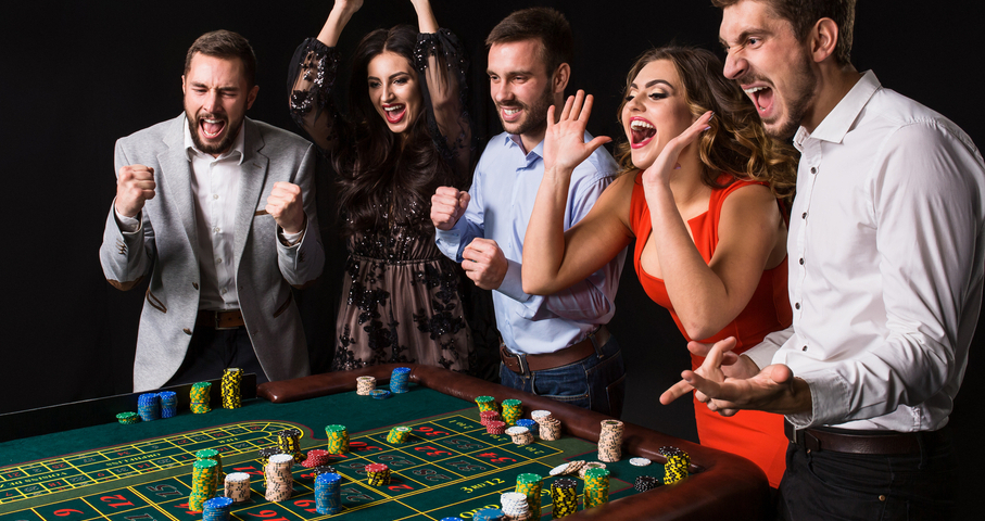 players at casino