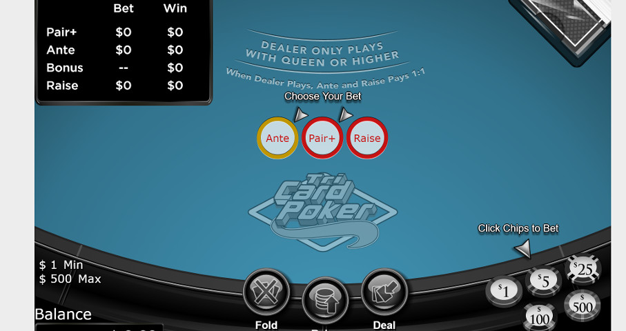 Tri Card Poker Info: House Edge, Odds, Payouts - Good Casinos
