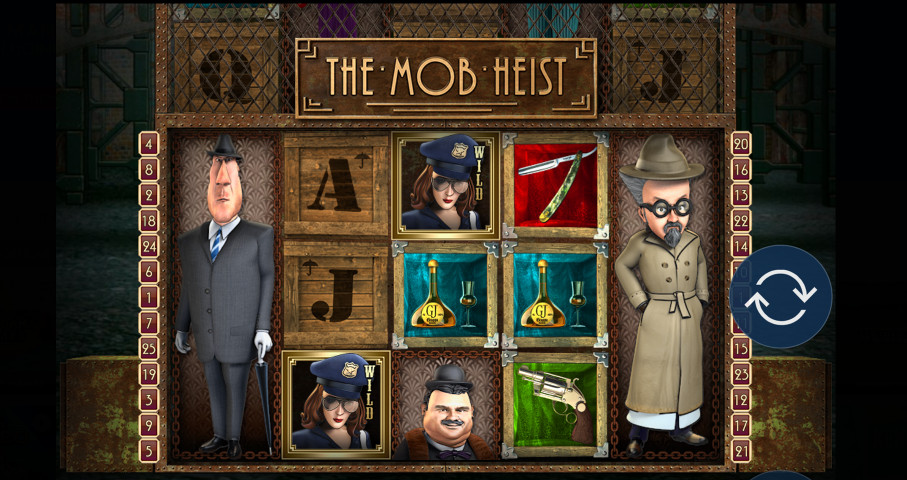 Mob Heist Slot Review