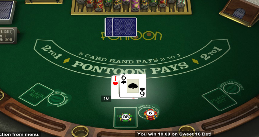 "Your Pontoon Blackjack ""How To"" from GoodCasinos"