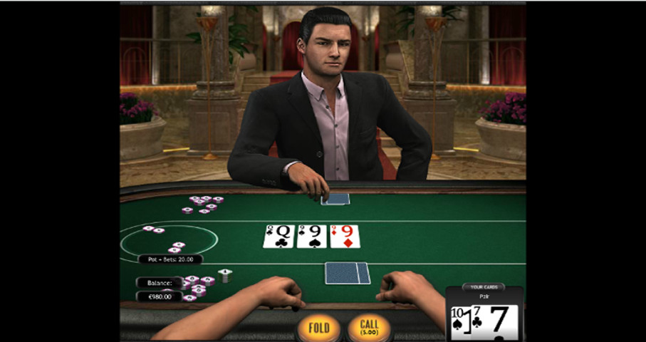 Poker 3 Heads Up Hold'em