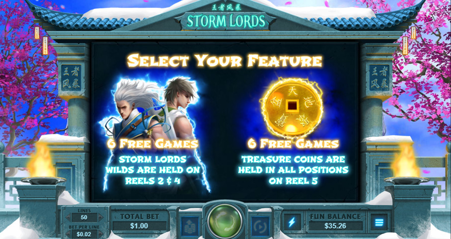 Storm Lords Slot Review